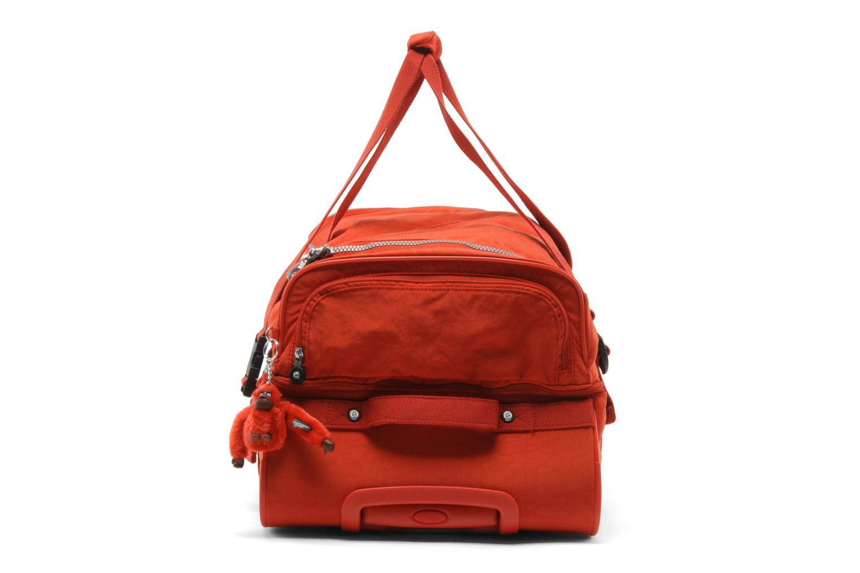 Reisegepäck Kipling Teagan M rot schuhe getragen