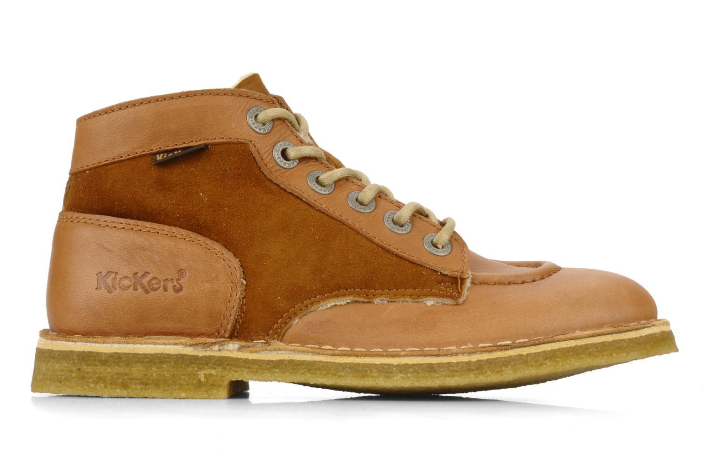 Bottines et boots Kickers Kick legend H Marron vue derrière