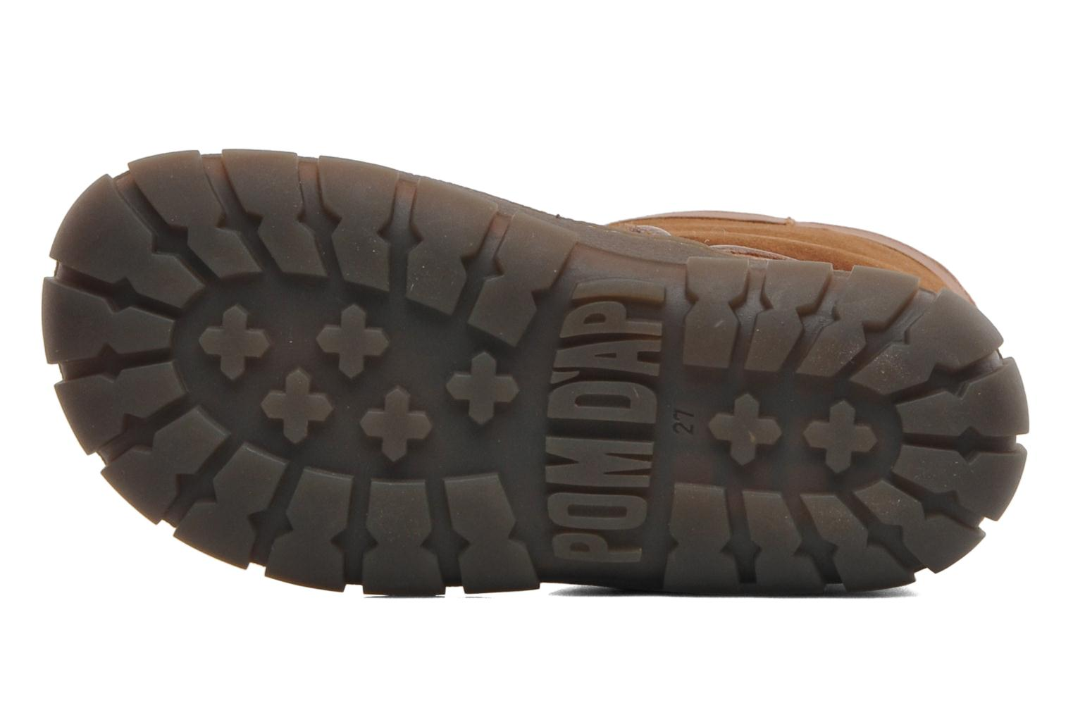 Boots & wellies Pom d Api Piwi Chabraque Brown view from above