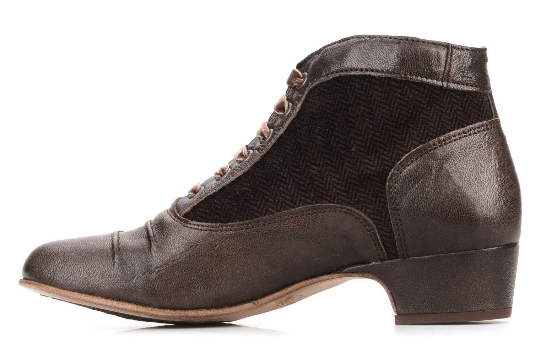 Boots en enkellaarsjes Kickers Ginger Bruin voorkant