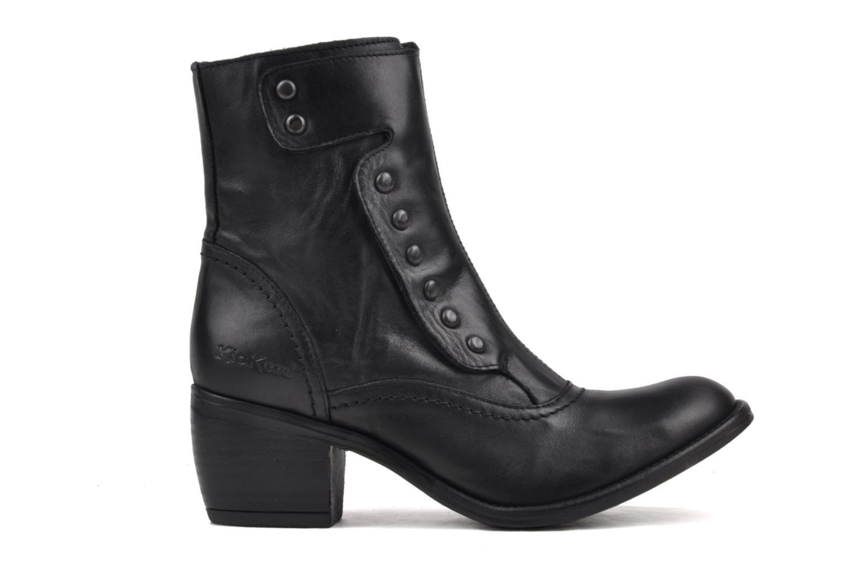 Boots en enkellaarsjes Kickers Utah Zwart achterkant