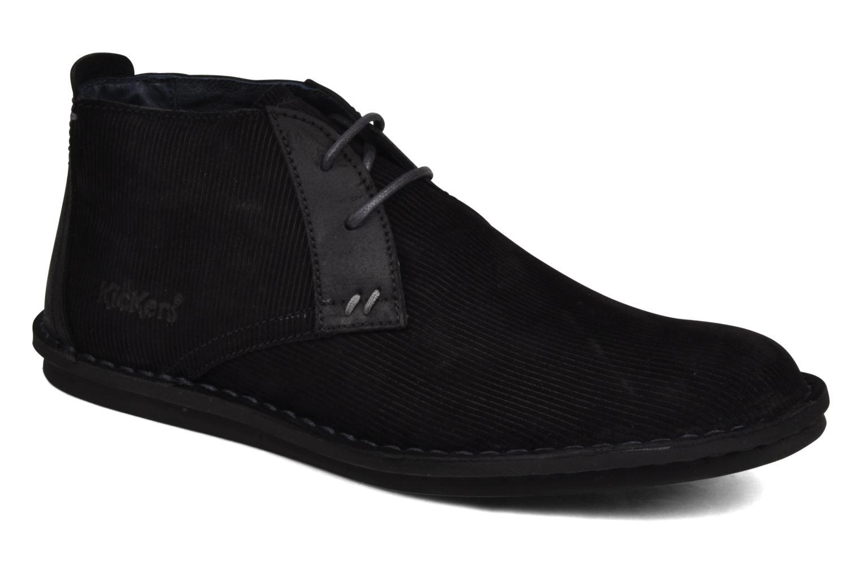 Chaussures à lacets Kickers Magnok Noir vue détail/paire