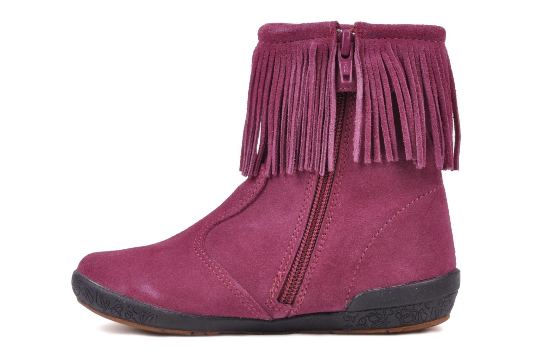 Boots en enkellaarsjes Naturino Katel Roze voorkant