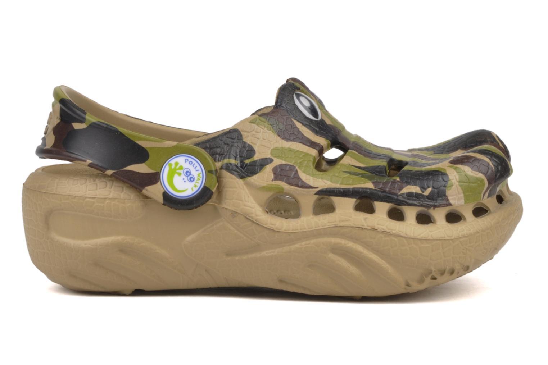 Sandali e scarpe aperte Polliwalks Igor L'alligator Verde immagine posteriore