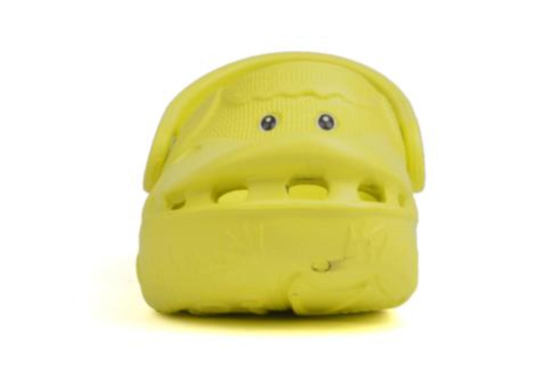 Sandalen Polliwalks Léonard Le Canard gelb schuhe getragen