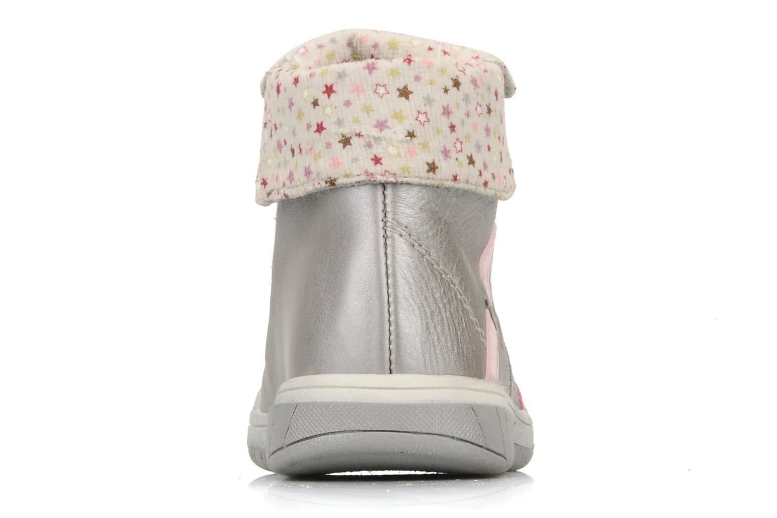Ankle boots Babybotte Artiste G Grey view from the right