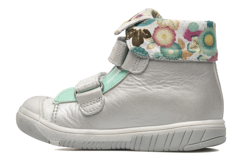 Schoenen met klitteband Babybotte Acteur Zilver voorkant