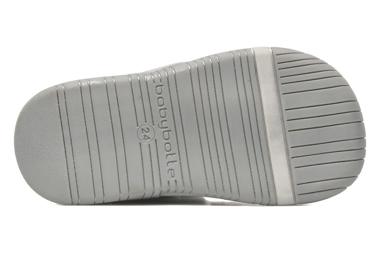 Schoenen met klitteband Babybotte Acteur Zilver boven