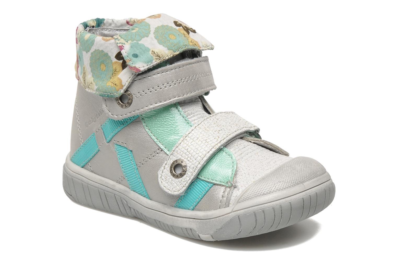 Schoenen met klitteband Babybotte Acteur Zilver detail