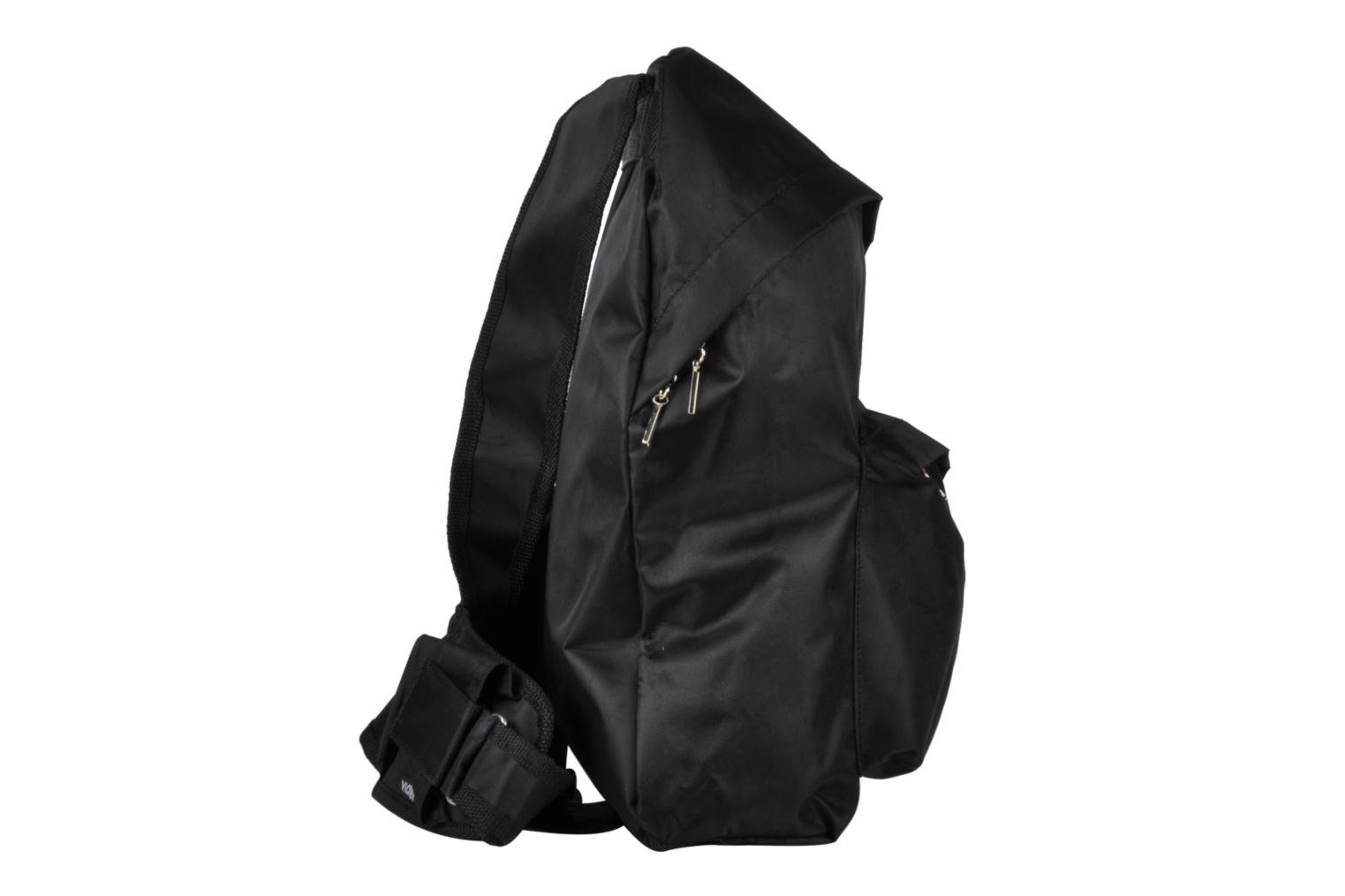 Rucksacks Viahero Pilot Bag Black view from the right