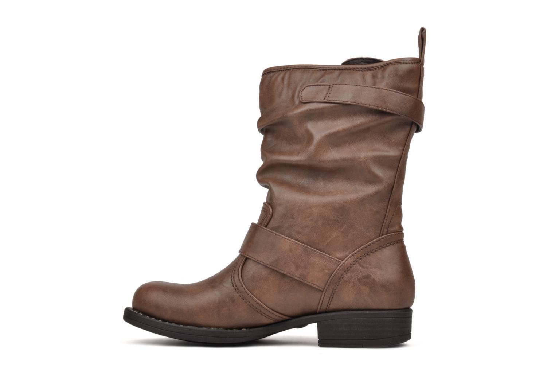 Boots en enkellaarsjes Mustang shoes Brea Bruin voorkant