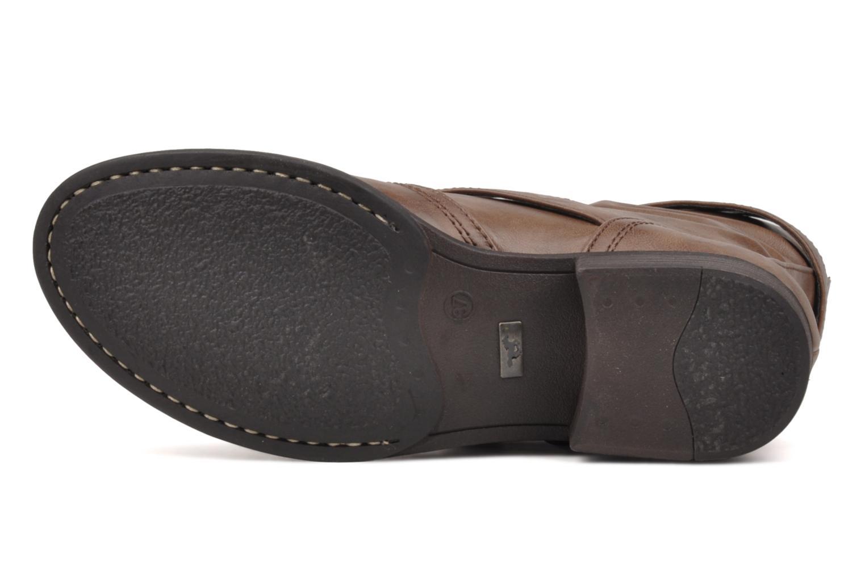 Stiefeletten & Boots Mustang shoes Brea braun ansicht von oben