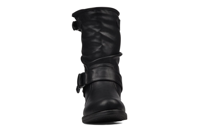 Bottines et boots Mustang shoes Brea Noir vue portées chaussures