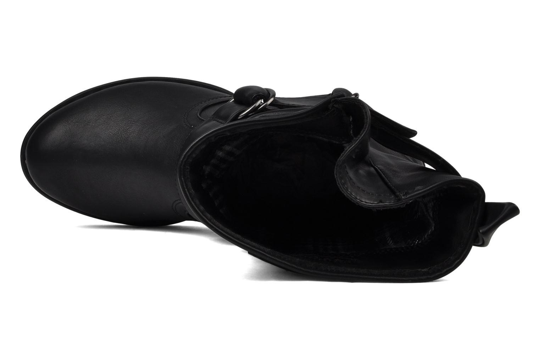 Boots en enkellaarsjes Mustang shoes Brea Zwart links
