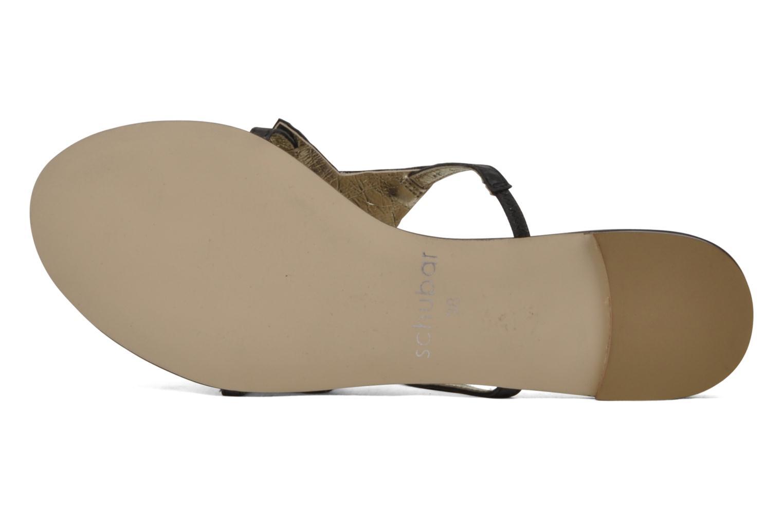 Sandales et nu-pieds Chocolate Schubar Star Noir vue gauche