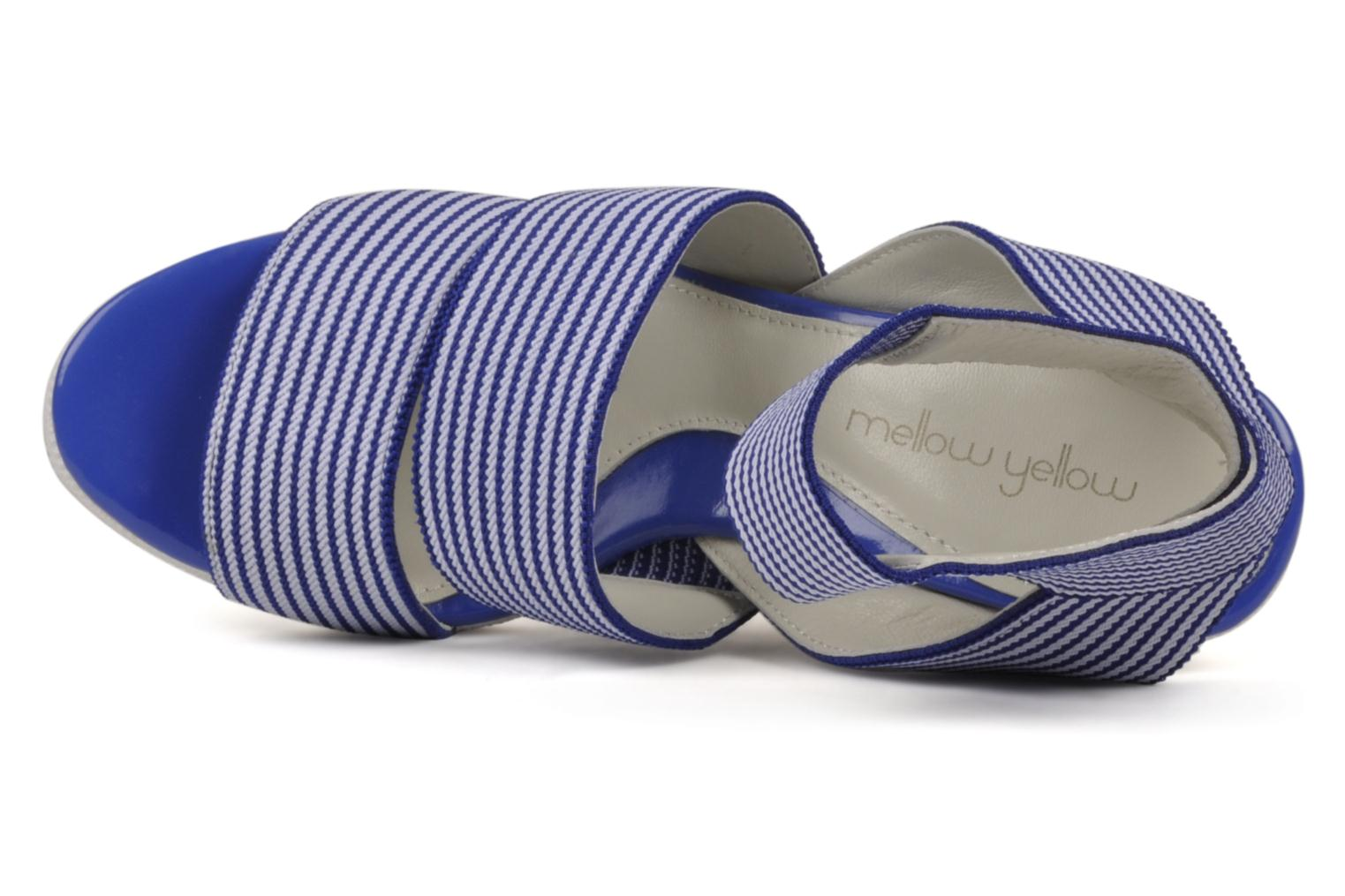 Sandals Mellow Yellow Hatchoum Blue view from the left