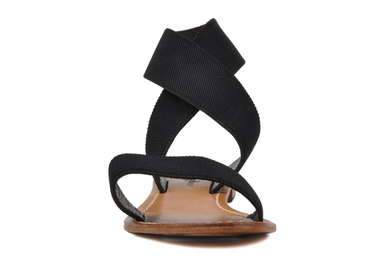 Sandalen Mellow Yellow Haussmann schwarz schuhe getragen