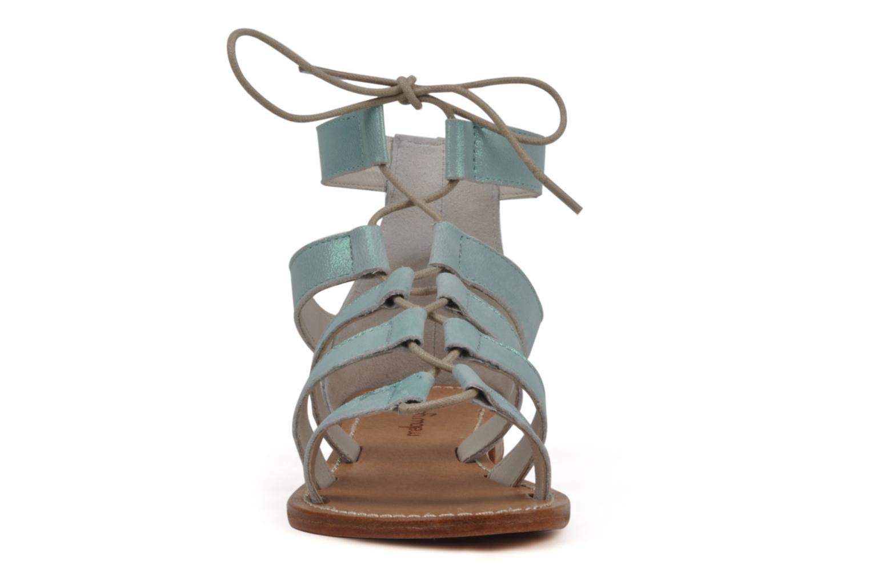 Sandals Mellow Yellow Hirondelle Blue model view
