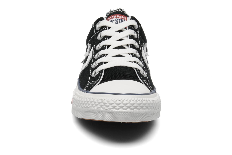 Baskets Converse Star Player Ev Canvas Ox W Noir vue portées chaussures