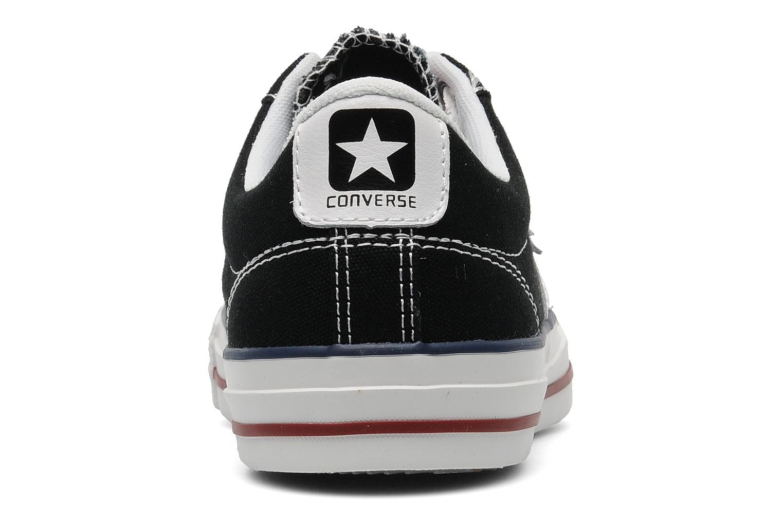 Baskets Converse Star Player Ev Canvas Ox W Noir vue droite