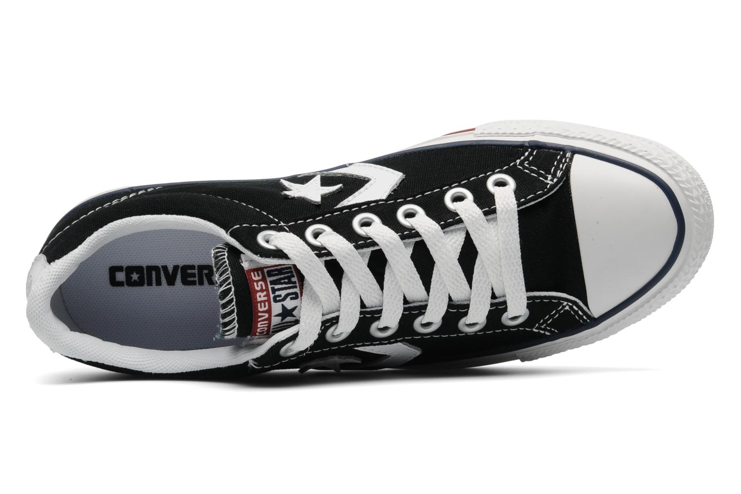 Sneaker Converse Star Player Ev Canvas Ox W schwarz ansicht von links