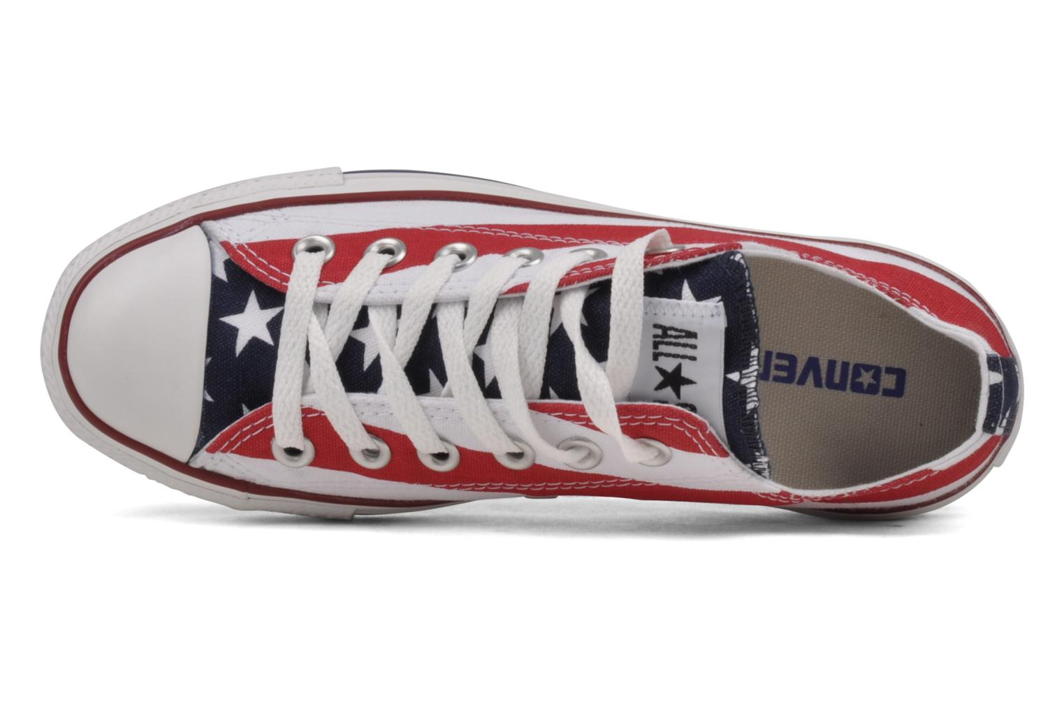 Chuck Taylor All Star Stars & Bars ox w Blanc Bleu Rouge