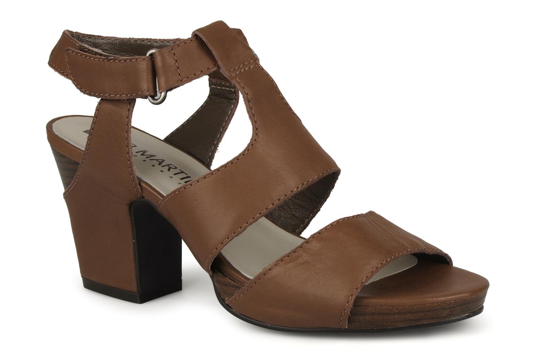 Sandales et nu-pieds JB MARTIN Hawaienne Or et bronze vue détail/paire