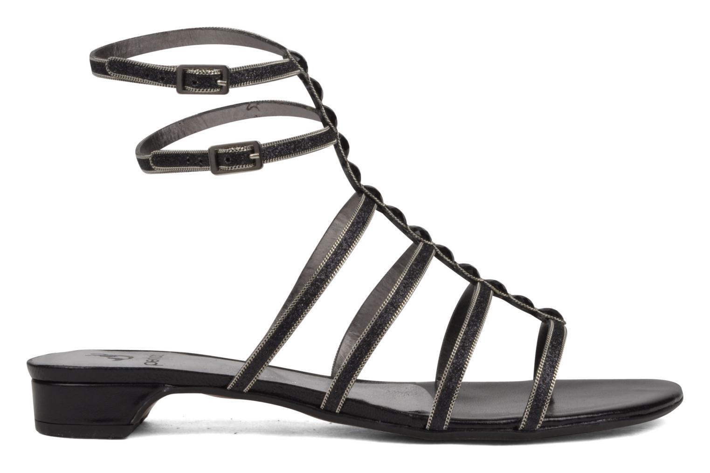 Sandales et nu-pieds Perlato Jadia Noir vue derrière