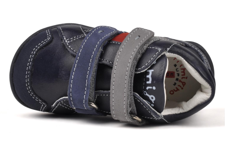 Sneaker Primigi Stripe blau ansicht von links