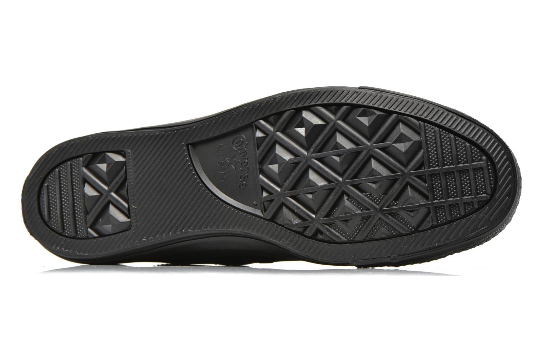 Sneakers Converse Chuck Taylor All Star Monochrome Leather Ox M Svart bild från ovan