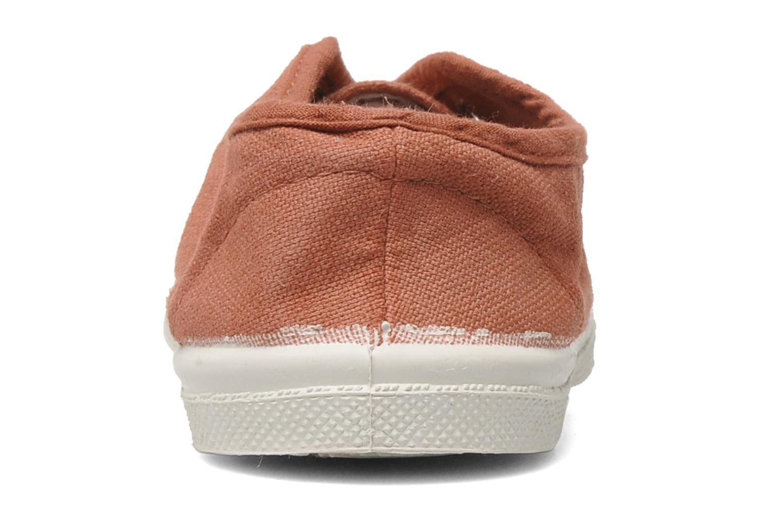 Trainers Bensimon Tennis Elly E Pink view from the right