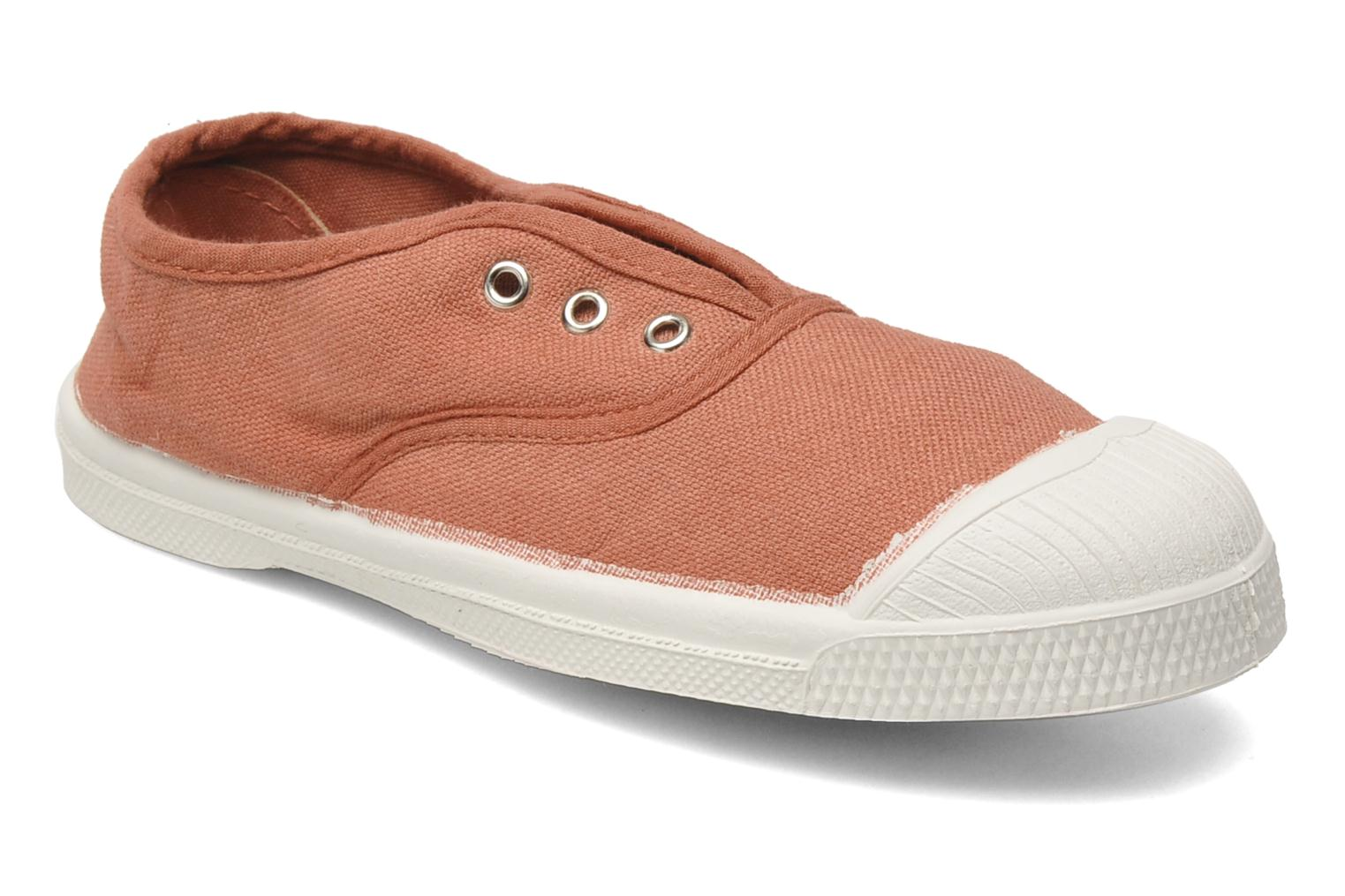 Trainers Bensimon Tennis Elly E Pink detailed view/ Pair view
