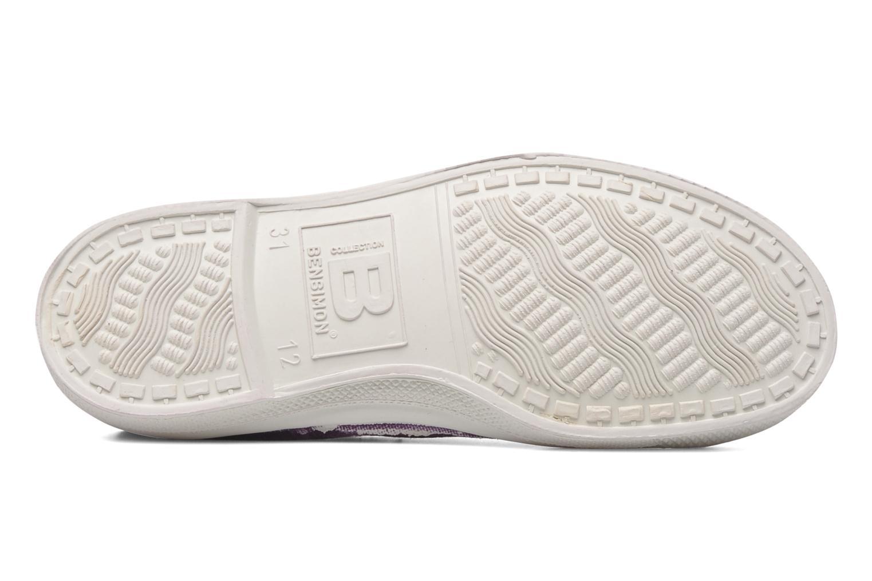 Sneakers Bensimon Tennis Elly E Paars boven