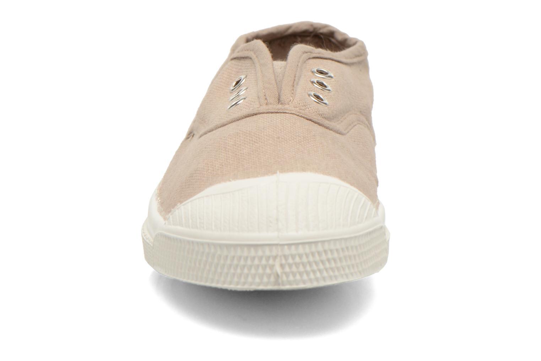 Sneaker Bensimon Tennis Elly E beige schuhe getragen