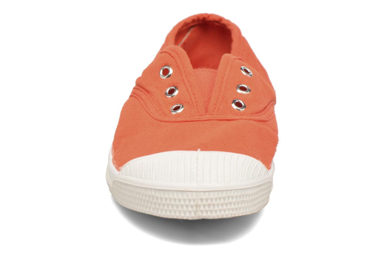 Sneaker Bensimon Tennis Elly E orange schuhe getragen