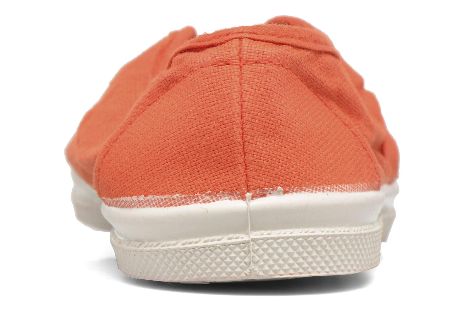 Trainers Bensimon Tennis Elly E Orange view from the right