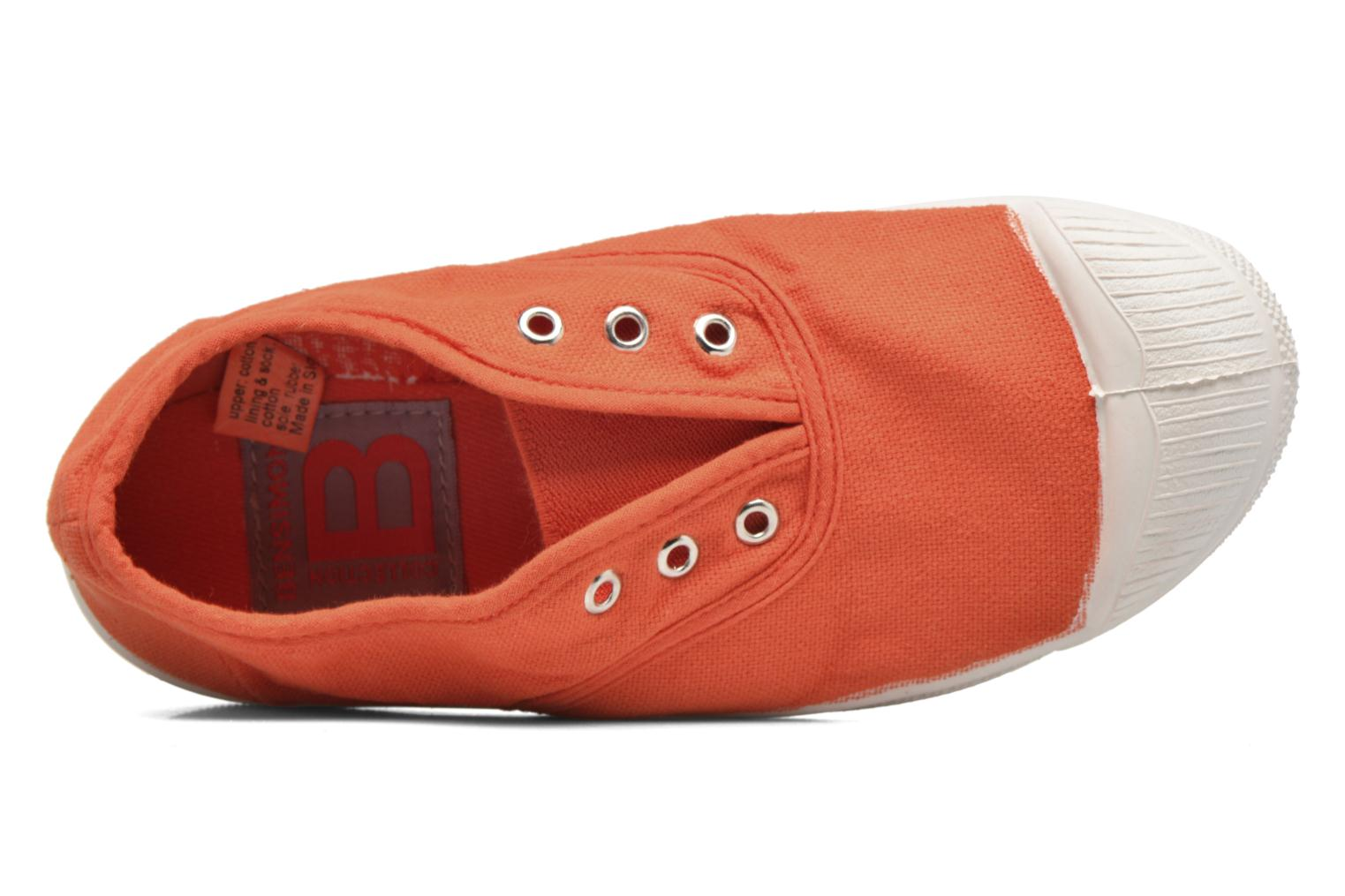 Trainers Bensimon Tennis Elly E Orange view from the left