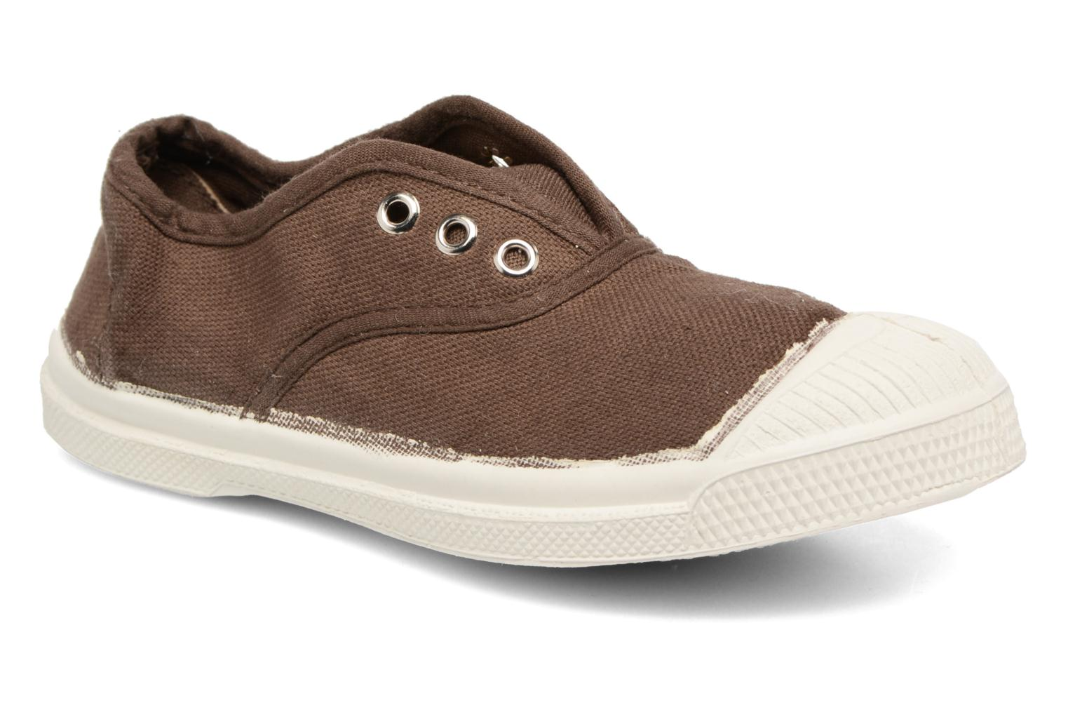 Trainers Bensimon Tennis Elly E Beige detailed view/ Pair view