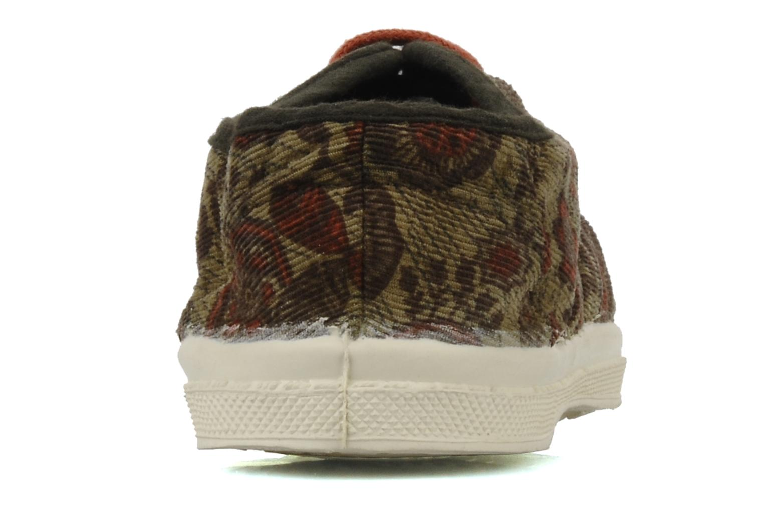 Deportivas Bensimon Tennis Liberty E Multicolor vista lateral derecha