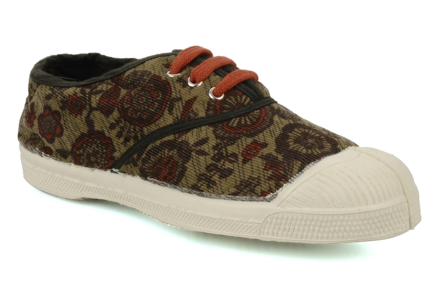 Baskets Bensimon Tennis Liberty E Multicolore vue détail/paire