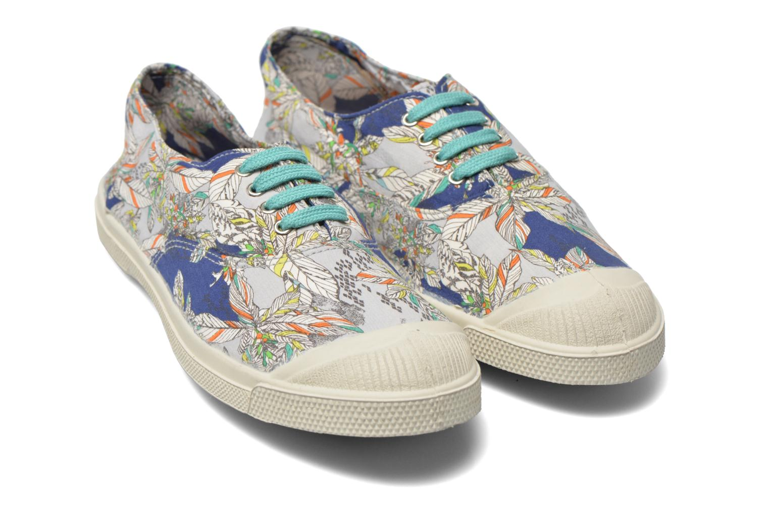 Baskets Bensimon Tennis Liberty Multicolore vue 3/4