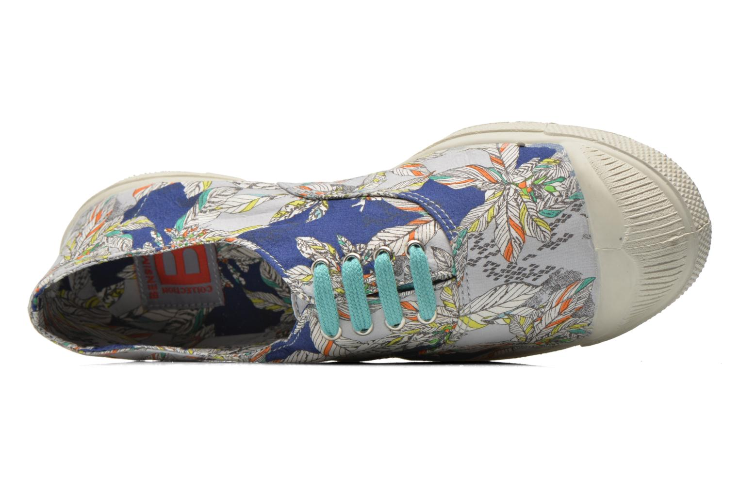 Baskets Bensimon Tennis Liberty Multicolore vue gauche