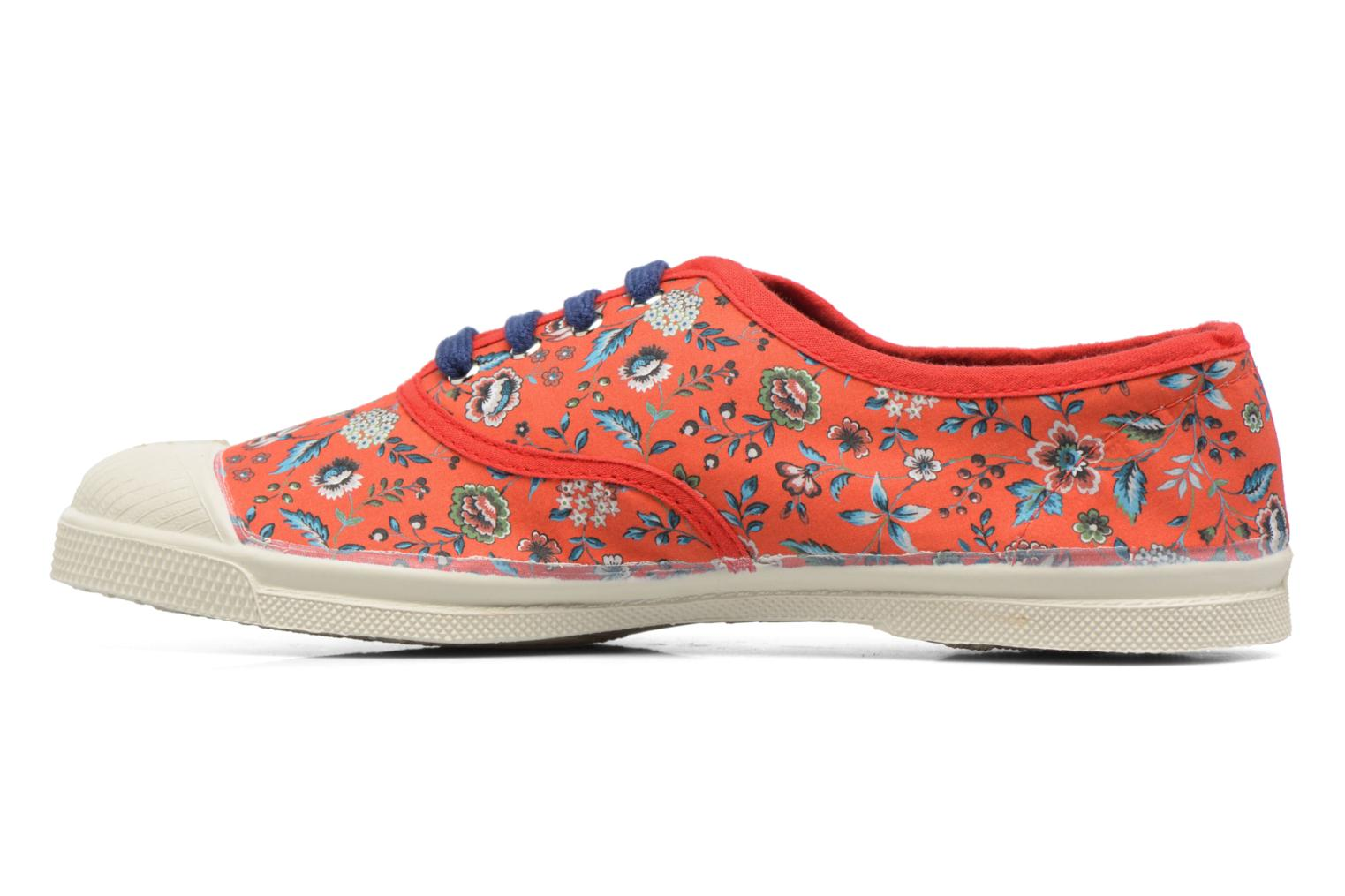 Trainers Bensimon Tennis Liberty Red front view