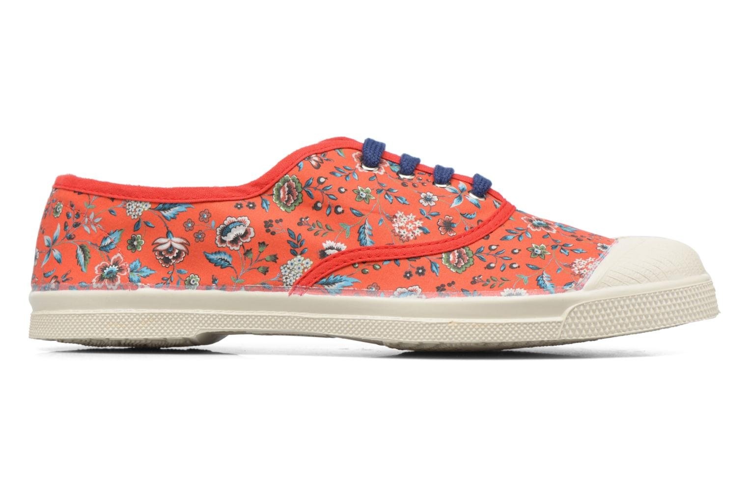 Trainers Bensimon Tennis Liberty Red back view