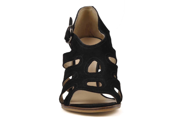 Sandalen Joe Sanchez Emila schwarz schuhe getragen