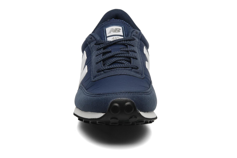 Sneaker New Balance U410 blau schuhe getragen