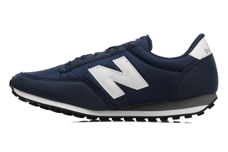 Sneakers New Balance U410 Blauw voorkant