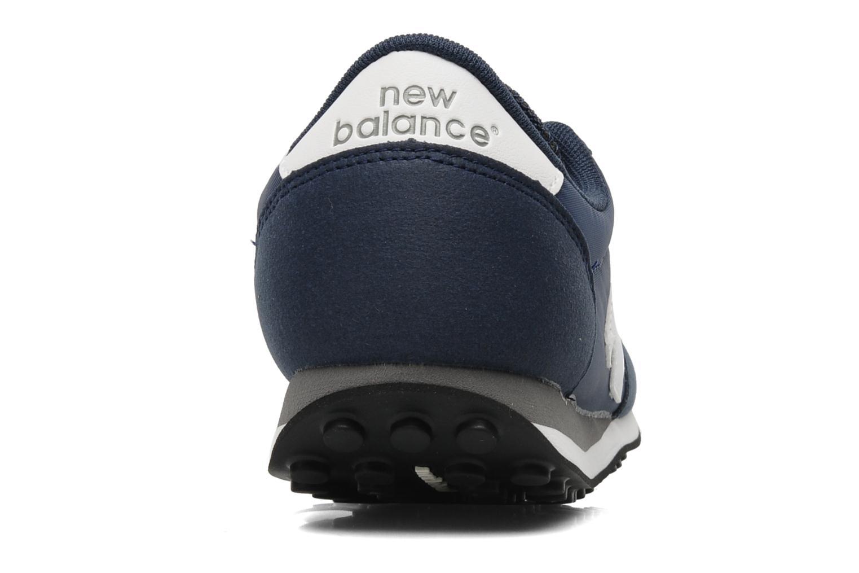 Baskets New Balance U410 Bleu vue droite