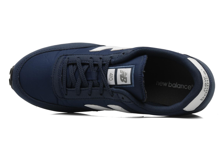 Sneaker New Balance U410 blau ansicht von links