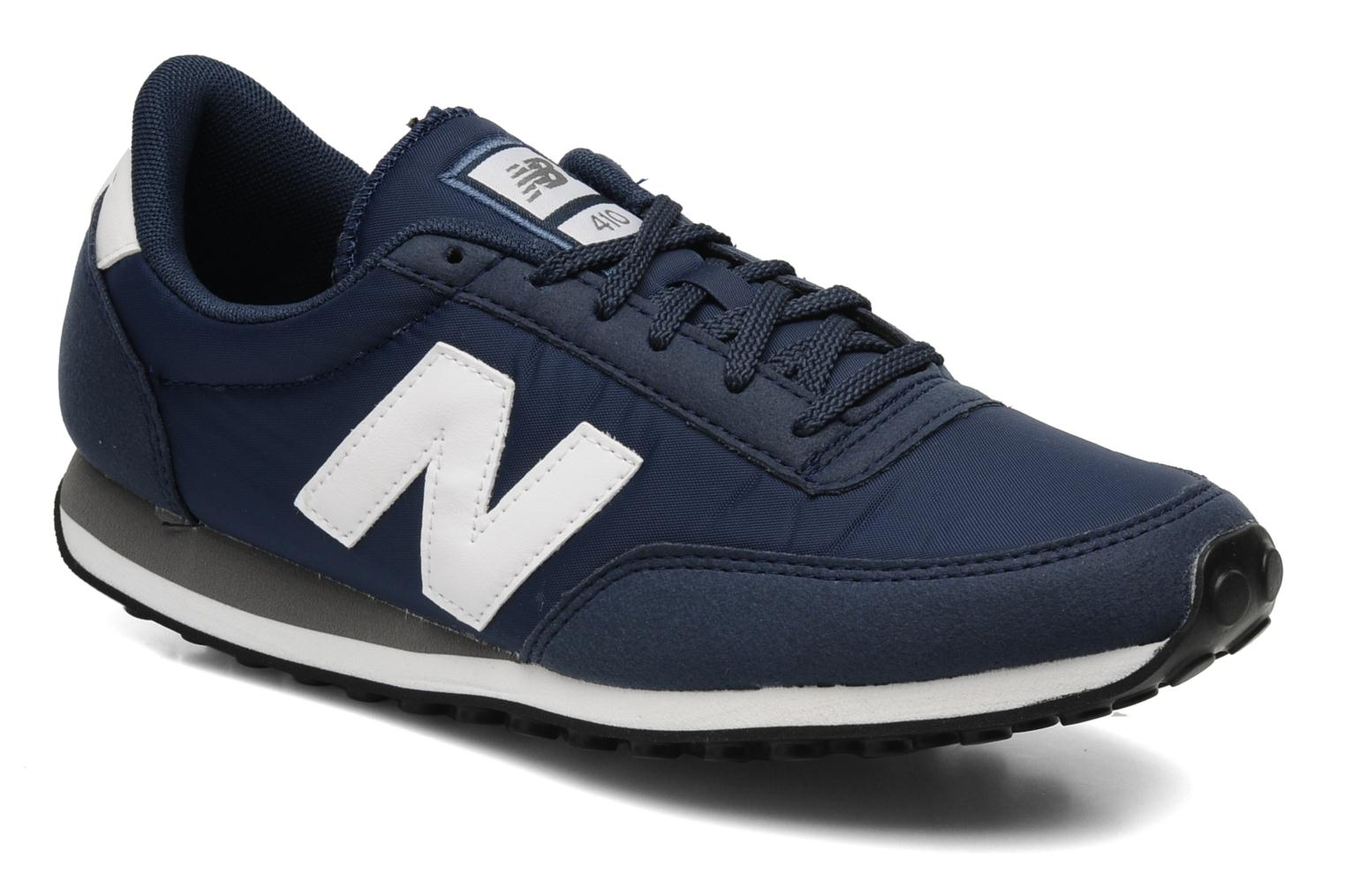 new balance u395 bleu marine orange
